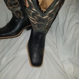Black Twisted X Cowgirl Boots, size 8.5 medium